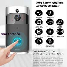 Wireless WIFI 720P Smart Doorbell IR Video Door Intercom Ring Camera Security