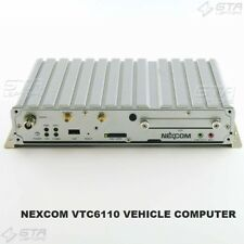 NEXCOM VTC6110 VEHICLE COMPUTER POWER ON TESTED WORKING NO HARD DRIVE