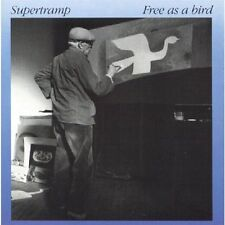 Supertramp - Free As A Bird  CDA 5181 Original A&M CD    RARE