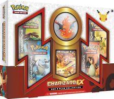 Pokemon 20th Anniversary Red & Blue Charizard EX Collection