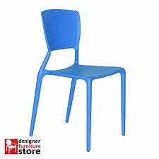Replica Dondoli & Pocci Viento Chair - Blue (Solid Back)