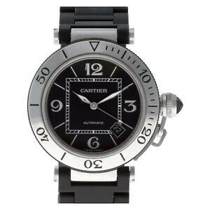 Cartier Pasha Seatimer 40 mm Bracelet Automatic Watch, Ref, 2790