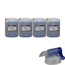 4x 20 L PEMCO Antifreeze 911 Kühlerfrostschutz blau Fertiggemisch Auslaufhahn