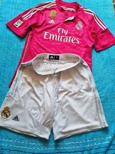 Fußball Hose,Sport-Trainingshose Adidas Short Bermuda REAL MADRID 52-L+EtiketTOP