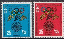 OLYMPICS : 1972 LIBYA Olympics Games set  SG 568-9 never-hinged mint