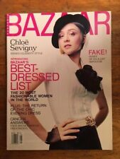 May 2001 HARPER'S BAZAAR Magazine Chloe Sevigny, Celebrity Style, Best Dressed