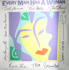 JOHN LENNON ELVIS COSTELLO Every Man Has A Woman - NEW SEALED 1984 LP Rock Pop