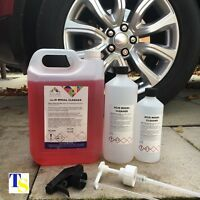 Azure Acid Wheel Cleaner 500ml (Car Cleaning - Industrial Professional Strength)