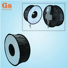 "Pro 45cm 18"" Studio Strobe Speedlight Ring Round Flash Diffuser Softbox"