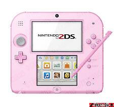 Nueva Consola De Mano Color Rosa Nintendo 2DS NTSC-J Japan