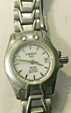 Tissot 1853 Ladies PR100 Automatic Watch Sapphire Crystal Works Stainless Steel