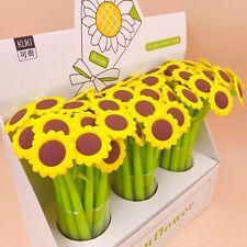 Sun Flower Gel Pen Office School Supplies stationery creative cute sweet pretty