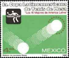 Timbre Sports Tennis de table Mexique 922 ** lot 24724