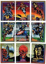 1993 Skybox Marvel Universe IV X-men Base Card You Pick Finish Your Set 91-180