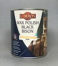 Liberon Fine Paste Wax Clear 1 Liter Can