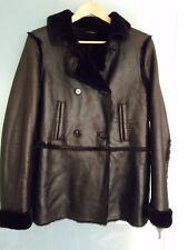Tommy Hilfiger brown  lamb shearling  coat, M NEW