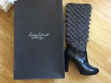 Roberto Botticelli Luxury fur boots RRP €600 size 39 worn one time only