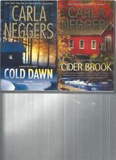 CARLA NEGGERS - CIDER BROOK - A LOT OF 2 BOOKS