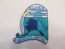 Alaska State Alcoholic Beverage Control Law Enforcement Patch