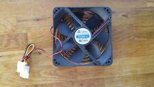 Chieftec 12cm case fan, p/n D12SM-12, molex connection, has fan guard fit