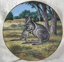 Bradford Exchange Bridled Wallaby by Will Nelson W J George 1990 boxed