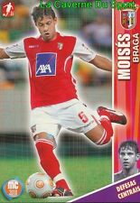 043 MOISES PORTUGAL SC.BRAGA Shanghai Greenland.FC CARD MEGACRAQUES 2010 PANINI