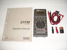 Fluke Model 27/FM Multimeter