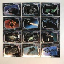 STAR TREK ENTERPRISE SEASON 2 2003 Complete 22nd CENTURY VESSELS Chase Card Set