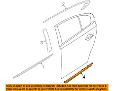 Lincoln FORD OEM MKS Rear Door Body Side-Lower Molding Trim Left 8A5Z5425557AA