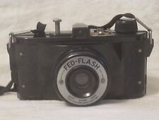 vintage FED-FLASH 64mm Ultar Lens Flash-Matic Shutter U.S.A. camera photography
