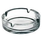 Glass Ash Tray - Luminarc  (Transparent, Glass)- 10 cm