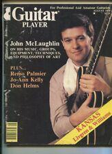 Guitar Player Aug. 1978 John McLaughlin Remo Palmier Jo-Ann Kelly   MBX107