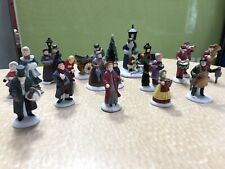 Dept 56 Heritage Village Nice Lot Christmas Figures Figurines 19 People +
