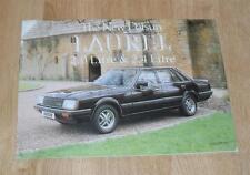Datsun Laurel Brochure 1981 2.0 & 2.4 - Nissan