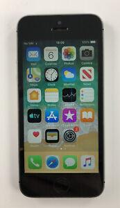 Apple iPhone 5s - 32GB - Space Grey (Vodafone) With Headphones