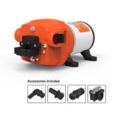 SEAFLO Diaphragm Electric Water Pump 12V  3.3 GPM 12.5 LPM 35 PSI Boat Marine RV