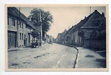 FENETRANGE finstingen Moselle CPA 57 le faubourg et la vieille chapelle