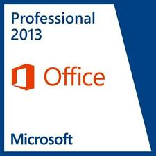 Microsoft Office 2013 Professional 32/64 Bit Retail for 2 PCs
