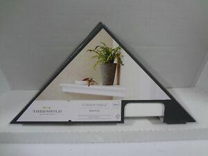 "*NEW* 15.5"" x 7.7"" Traditional Corner Shelf White"
