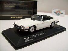 Jaguar XJ-S Convertible, Glacier White, 1988, Minichamps 1:43, OVP