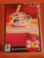 """PC GAME CD-ROM """"ULTIMATE MUSIC QUIZ il Grande Quiz"""" - USATO PARI AL NUOVO (OP)"""