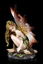 Elfen Figur - Luenell - Fee Fairy Fantasy Deko Statue Geschenk Waldelfe Herbst
