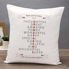 Grandparents Personalised Cushion
