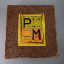 P plus M minus - englisches Kartenspiel um 1935 (46388)