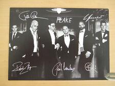 Rammstein Autogramm Autogrammkarte drucksigniert TOP