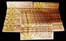 25 Packs KUSH UNBLEACHED King Size Slim Cigarette Rolling Papers Free Shipping