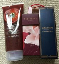 BODY SHOP,TED BAKER.SANCTUARY BODY SPRAY & BODY POLISH BRAND NEW