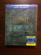 EL HOBBIT LA DESOLACION DE SMAUG EDICION EXTENDIDA - 3 BLURAY- NEW & SEALED