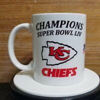 Kansas City Chiefs Champions Super Bowl LIV cup taza coffee mug NFL 11oz footb
