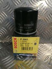 Mazda MX5 Bosch Oil Filter P2061 0986452061